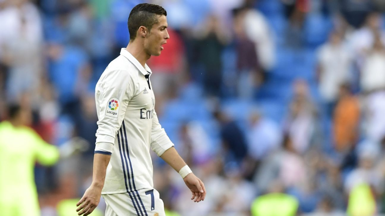 Ronaldo frustrated vs Eibar 161002