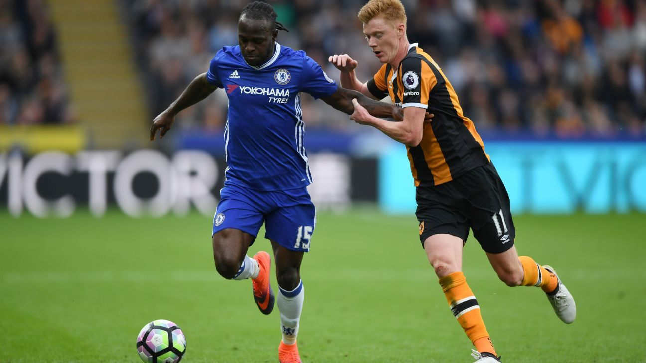 Victor Moses vs Hull 161002