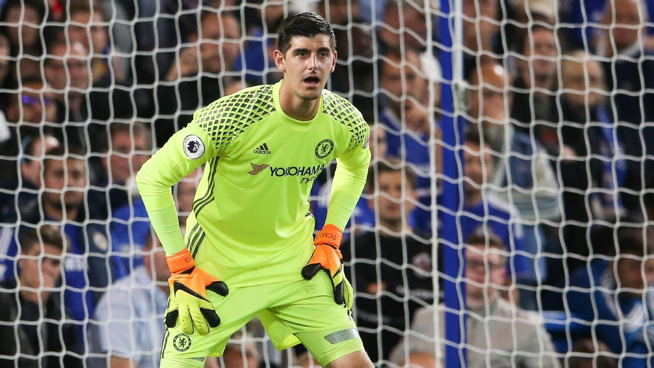 Chelsea keeper Thibaut Courtois plays down ments on Spain move