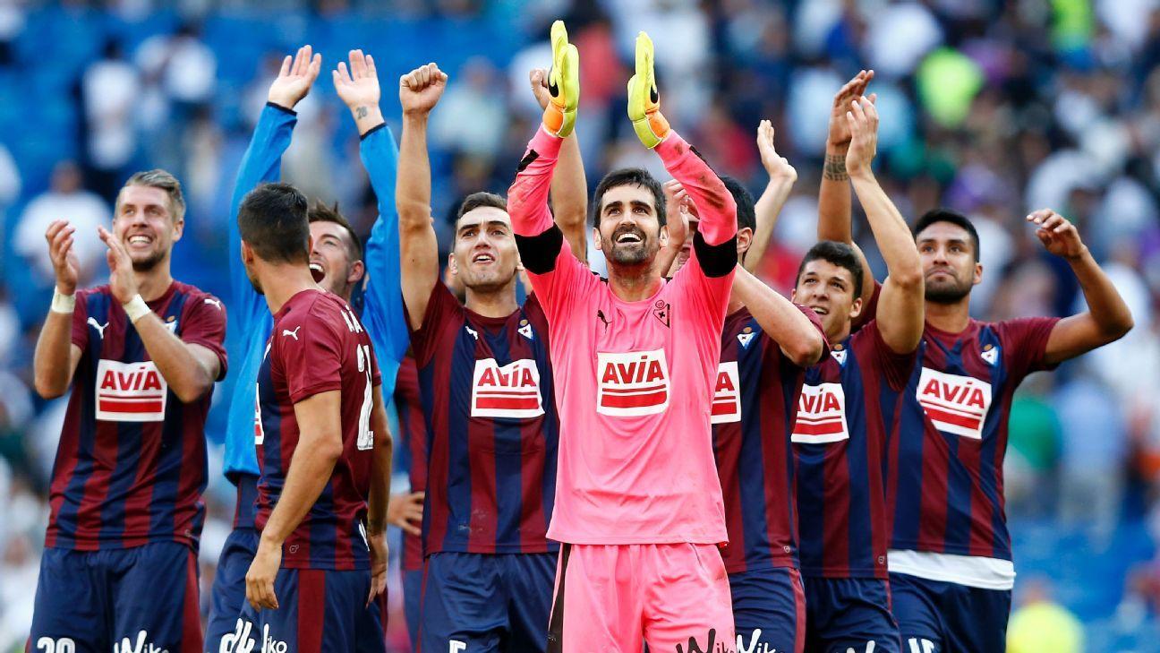Eibar team celeb