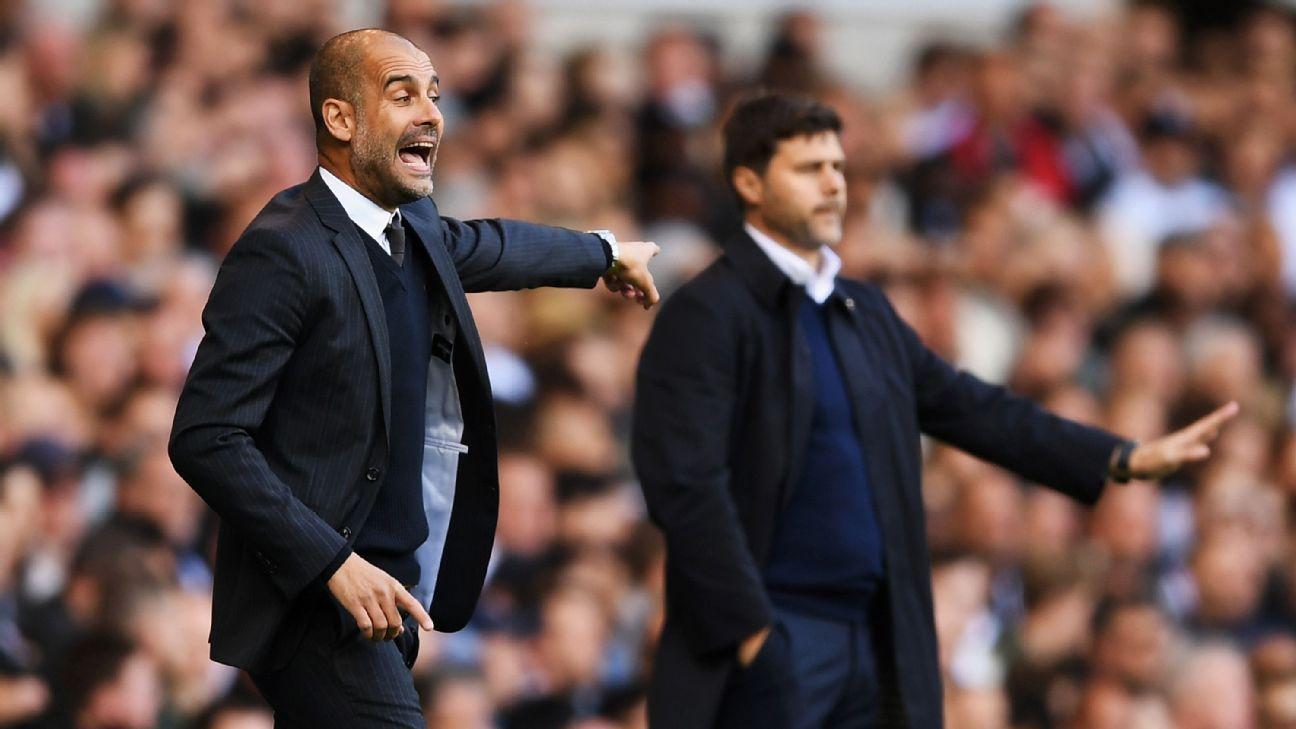 Tottenham completely 'opposite' of big-spending Man City - Pochettino
