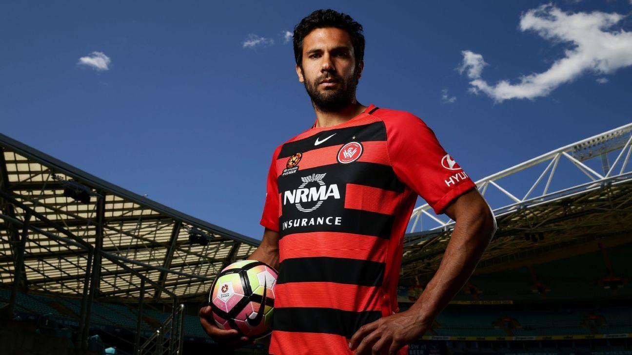 Western Sydney Wanderers captain Nikolai Topor-Stanley