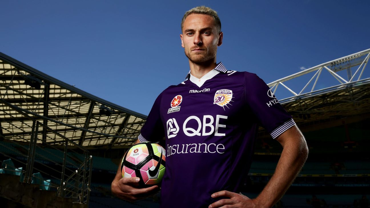 Perth Glory captain Rostyn Griffiths