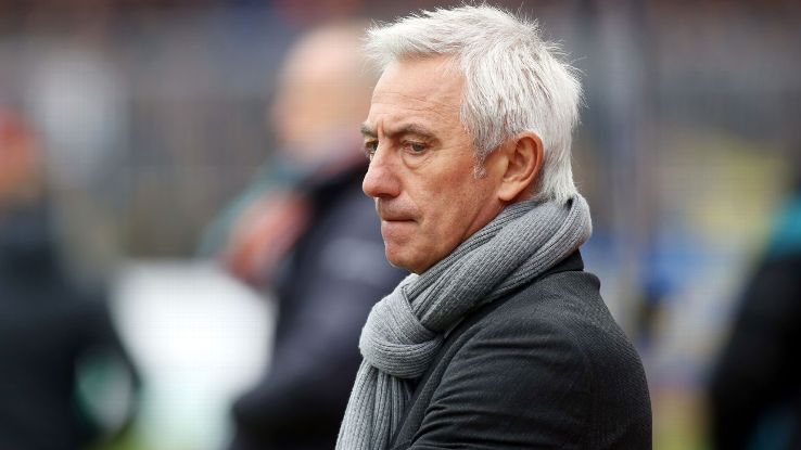 Saudi Arabia coach Bert van Marwijk