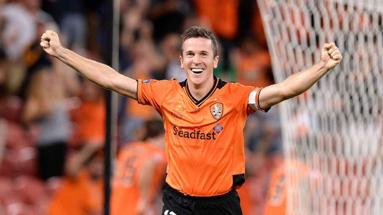 Brisbane Roar captain Matt McKay