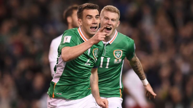 Seamus Coleman scored the only goal as Ireland earned three points.
