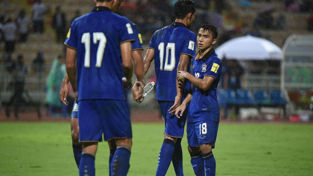 Thailand midfielder Chanathip Songkrasin