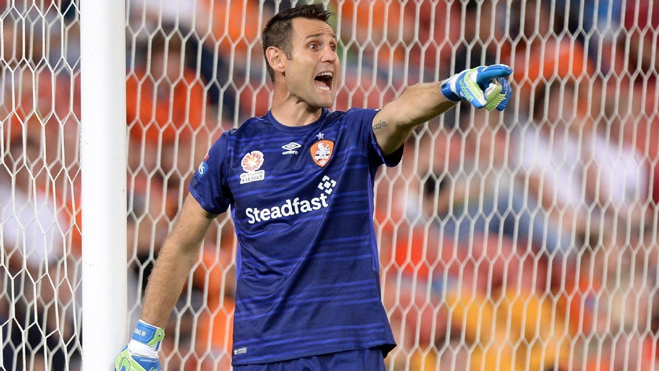 Brisbane Roar's Michael Theo