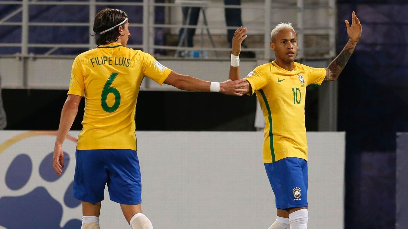 Neymar angry vs Bolivia 161006