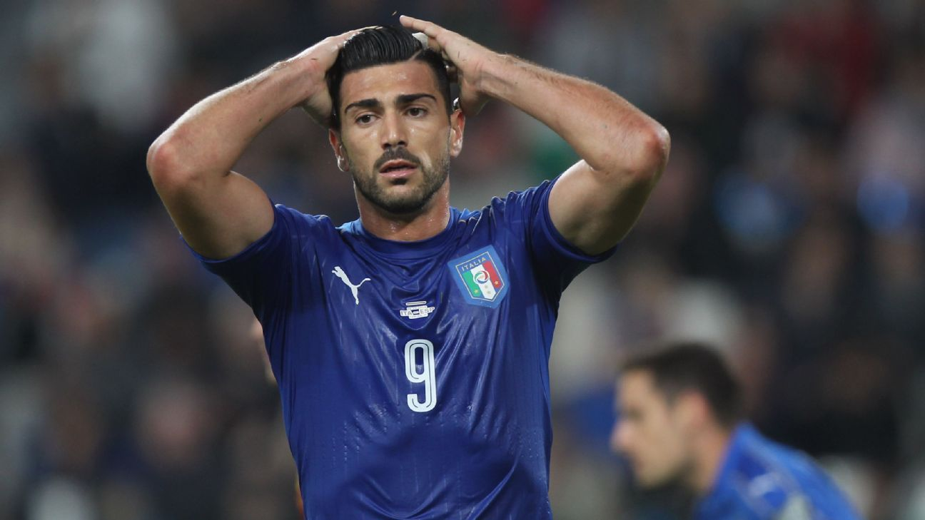 Graziano Pelle Italy woe