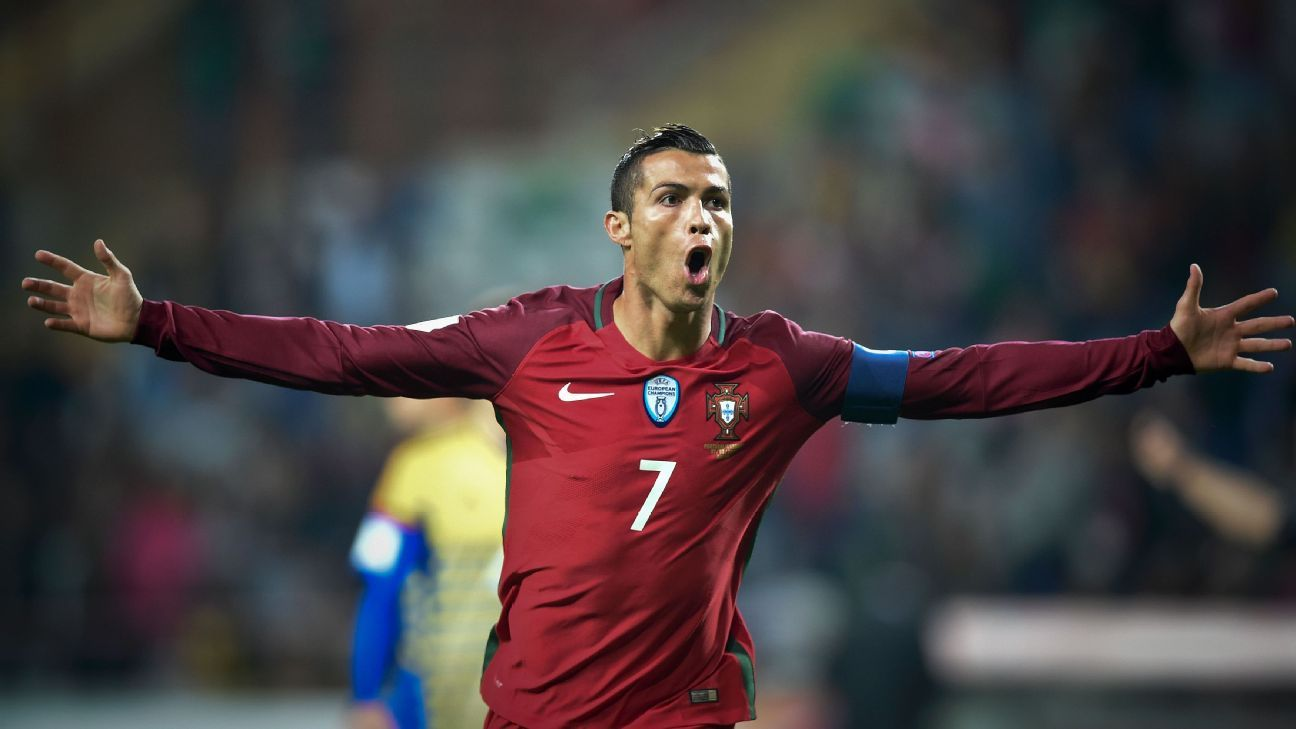 Cristiano Ronaldo made short work of Andorra on Friday.