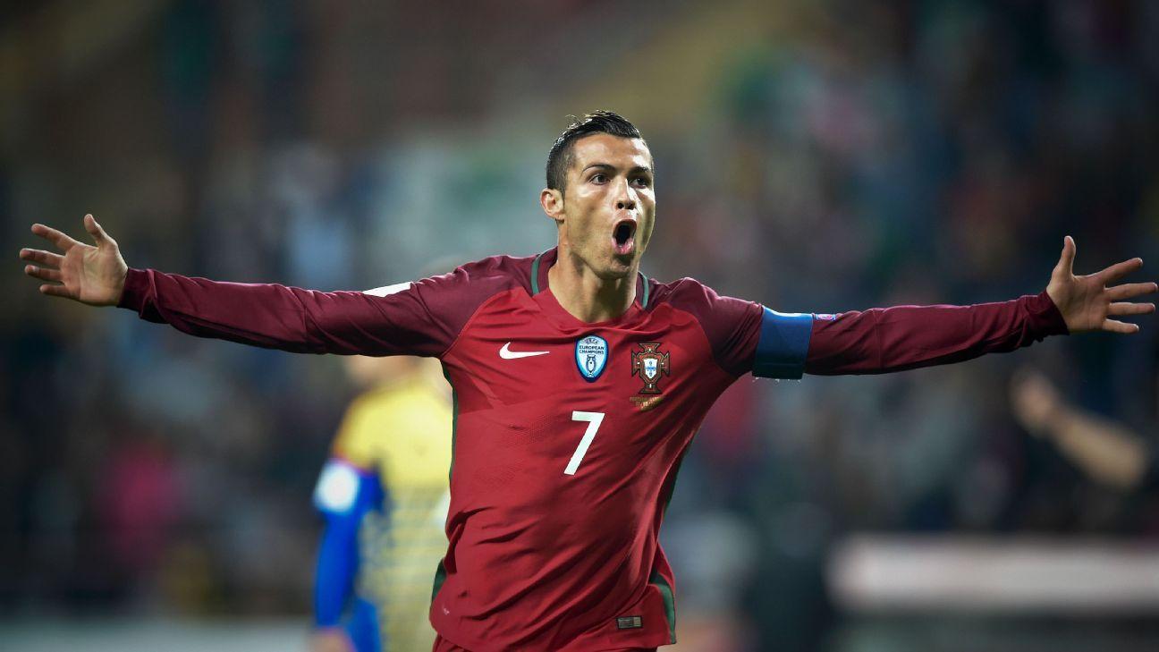 Cristiano Ronaldo made short work of Andorra on Friday.