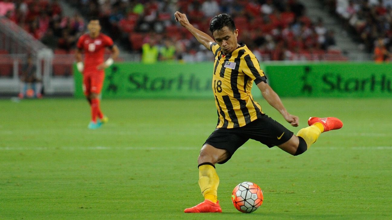 Malaysia's Hazwan Bakri vs. Singapore