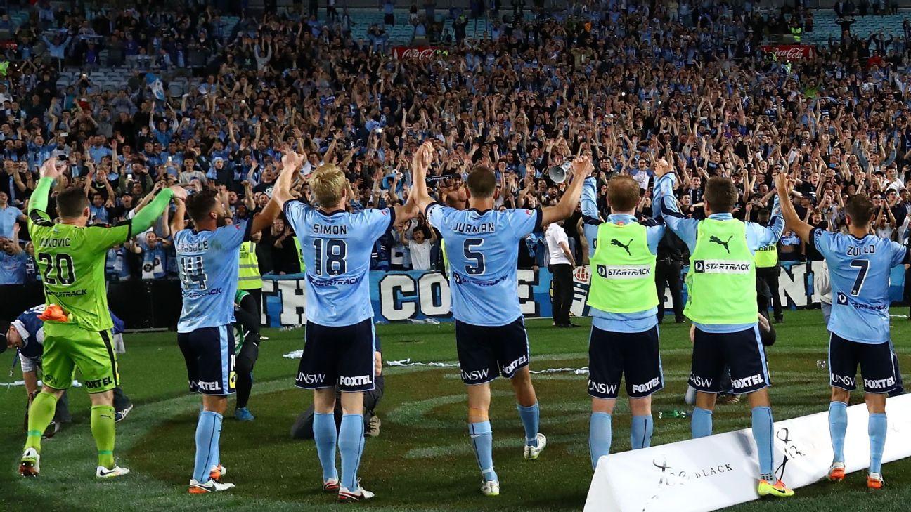 Sydney FC thanking fans
