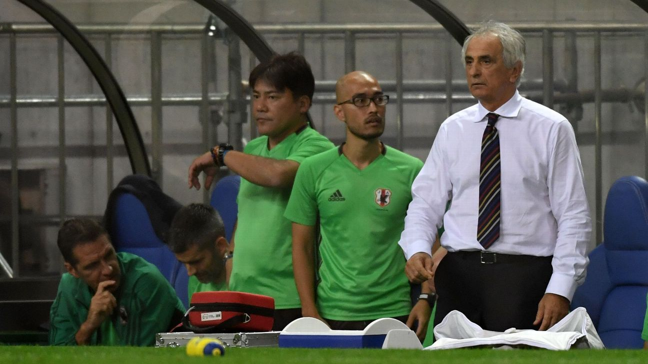 Japan head coach Vahid Halilhodzic