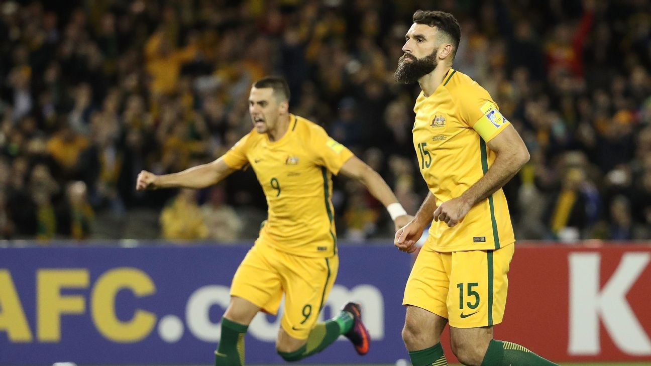Socceroos captain Mile Jedinak
