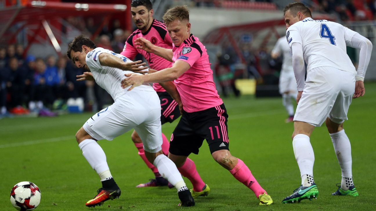 Scotland could not find a way to get around Slovakia on Tuesday.