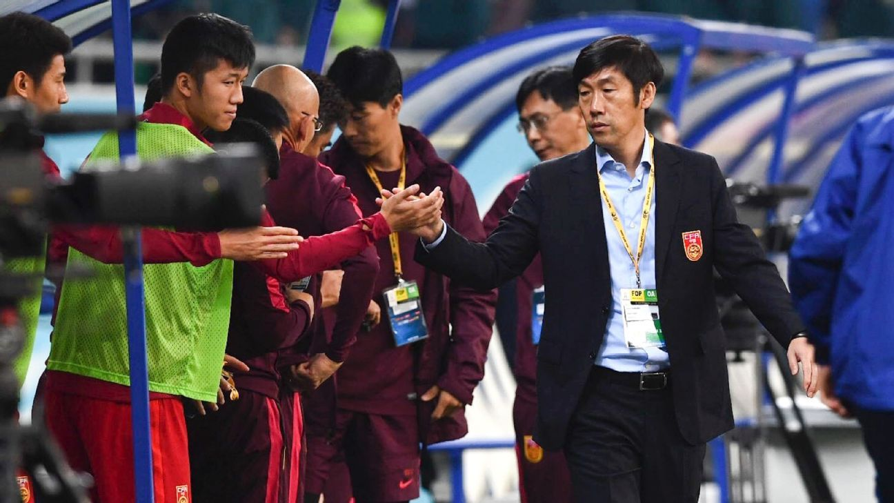China coach Gao Hongbo