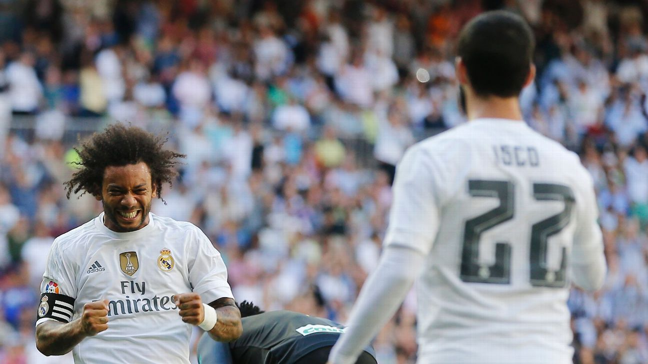 Marcelo and Isco