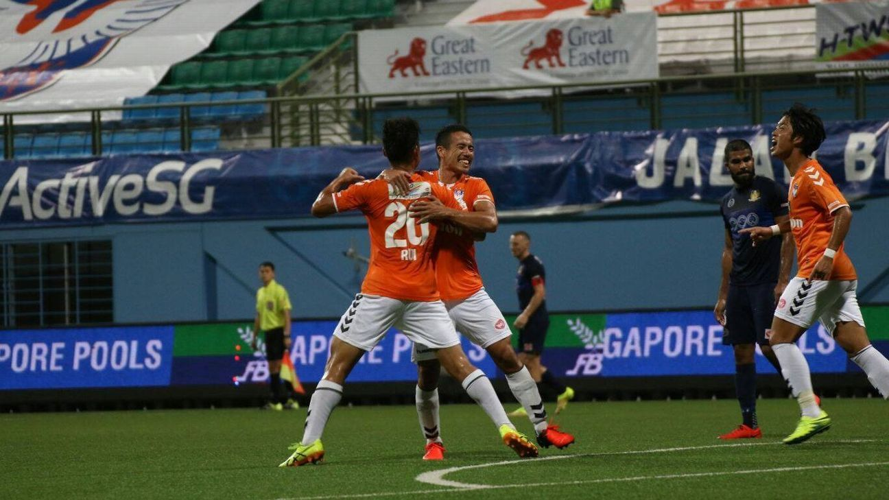 Albirex Niigata vs. Hougang