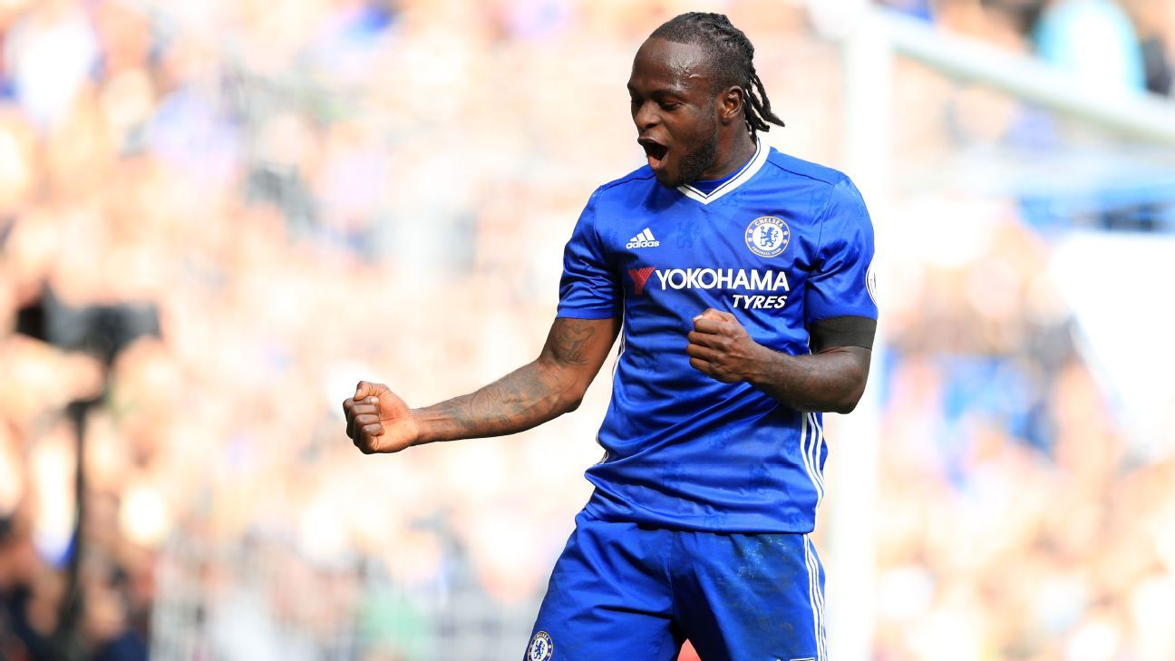 victor moses targets more goals for chelsea after signing