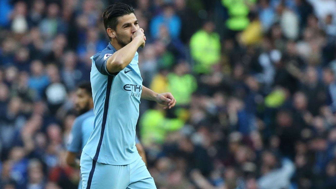 Manchester City's Nolito open to Celta Vigo return