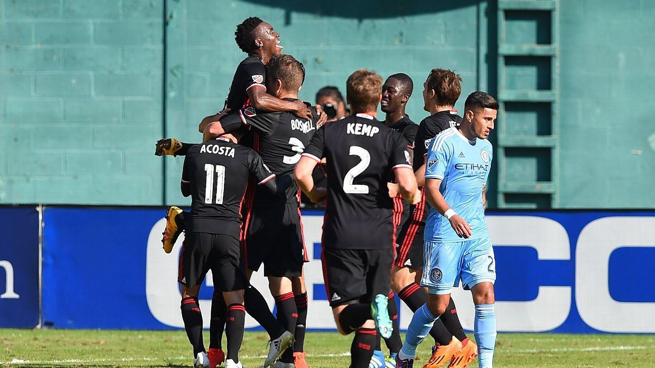D.C. United celebrates