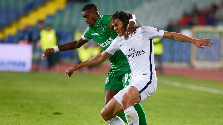 Ludogorets' Brazilian forward Jonathan Cafu