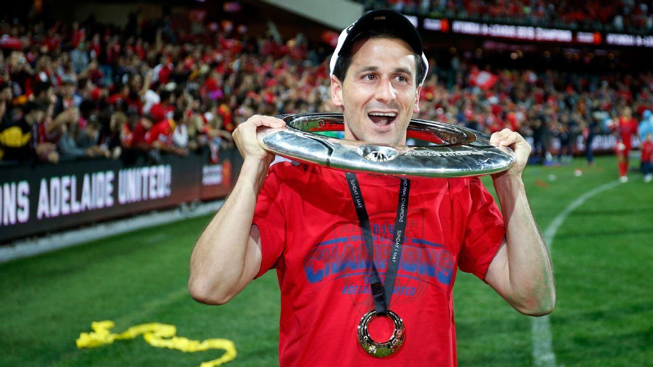 Adelaide United's Sergio Cirio