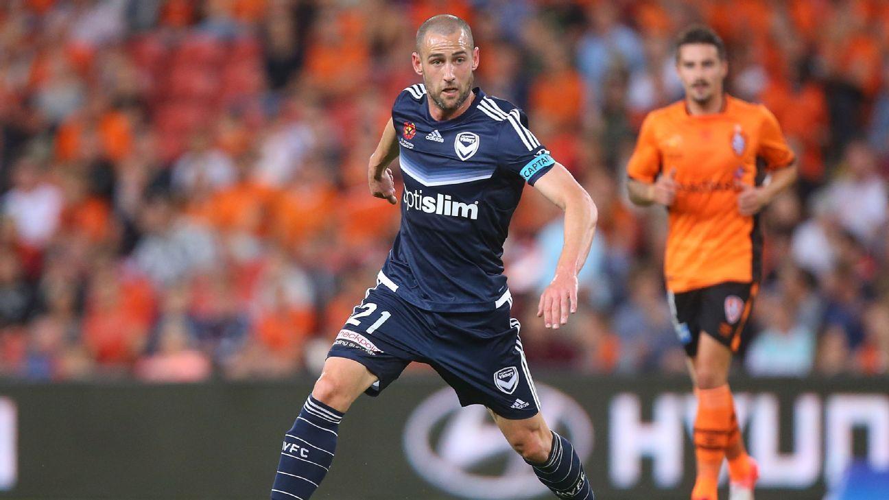 Melbourne Victory's Carl Valeri