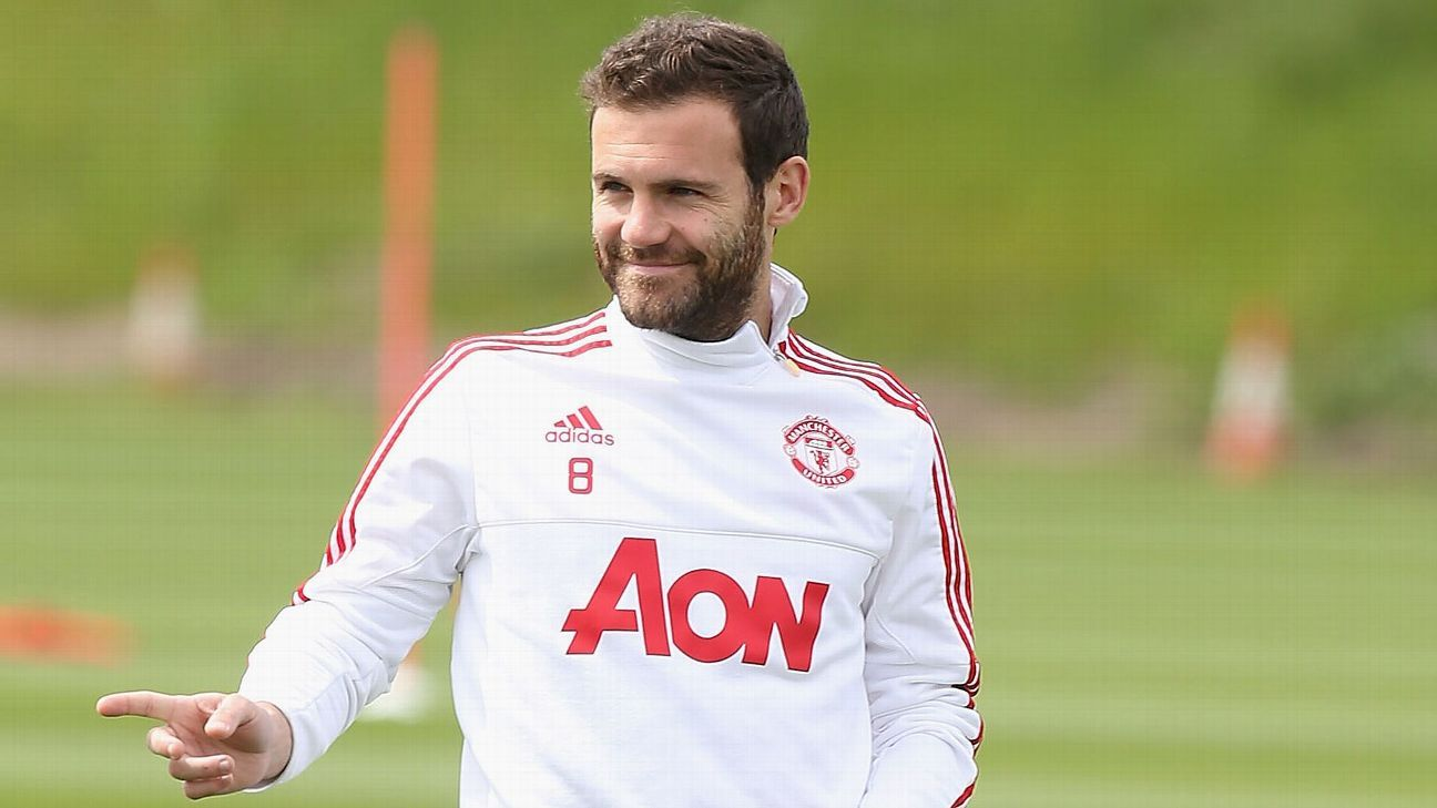 Juan Mata: I could return for Man United before end of season