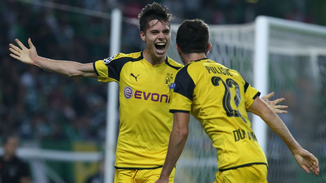 Julian Weigl s a perfect 10 as Dortmund beat Sporting Lisbon