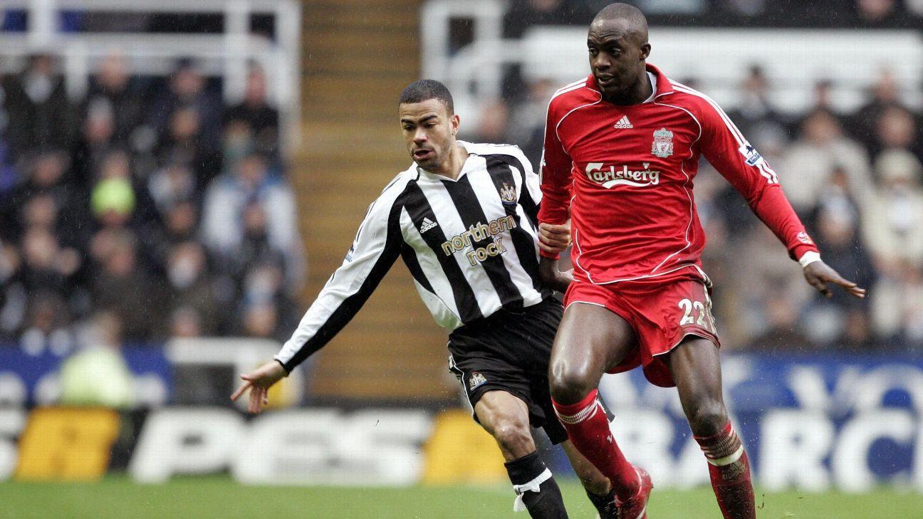 Liverpool midfielder Mohamed Sissoko