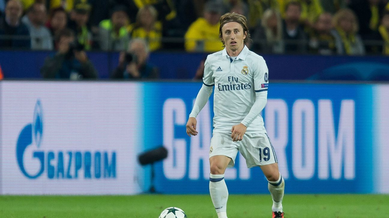 Dortmund, Germany 27.09.2016, UEFA Champions League - 2016/17 Season, Group F - Matchday 2, BV Borussia Dortmund - Real Madrid, 2:2,  Luka Modric.