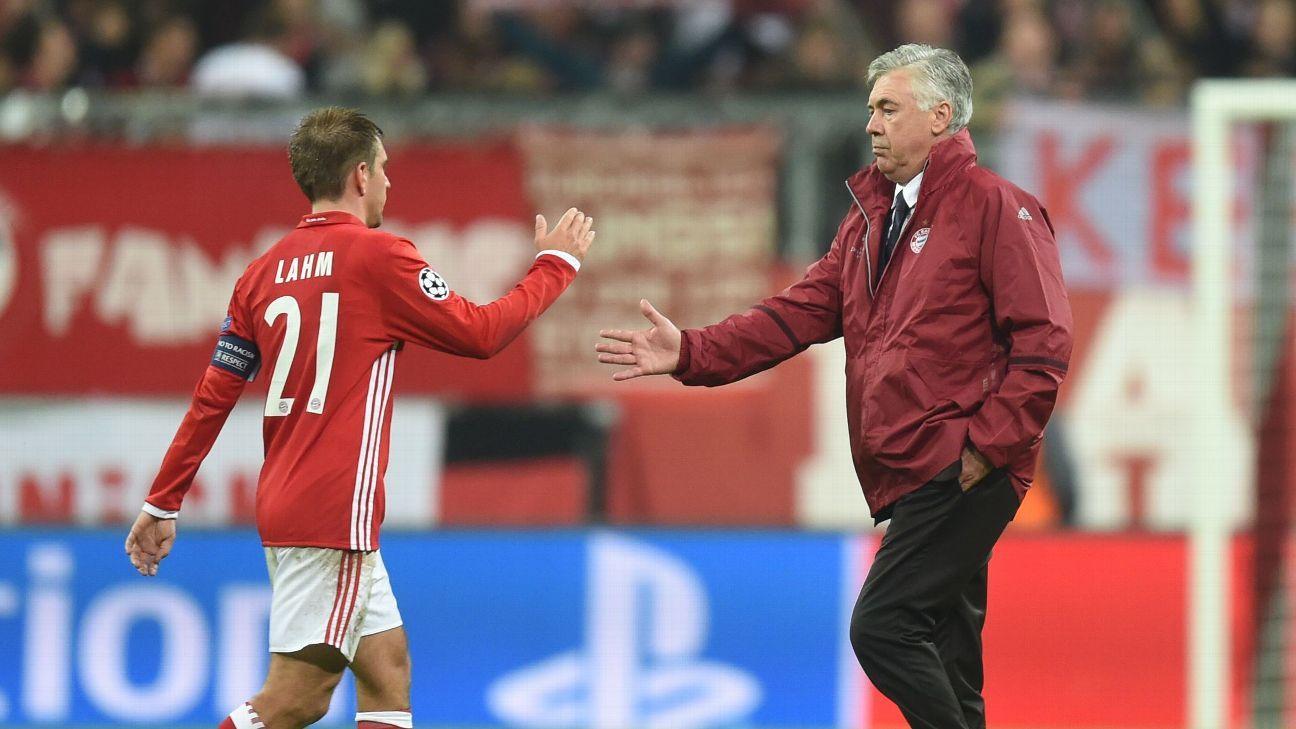 Philipp Lahm & Carlo Ancelotti