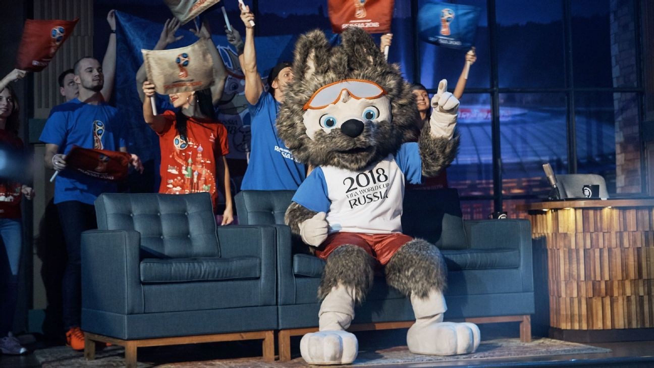 Russia 2018 World Cup mascot