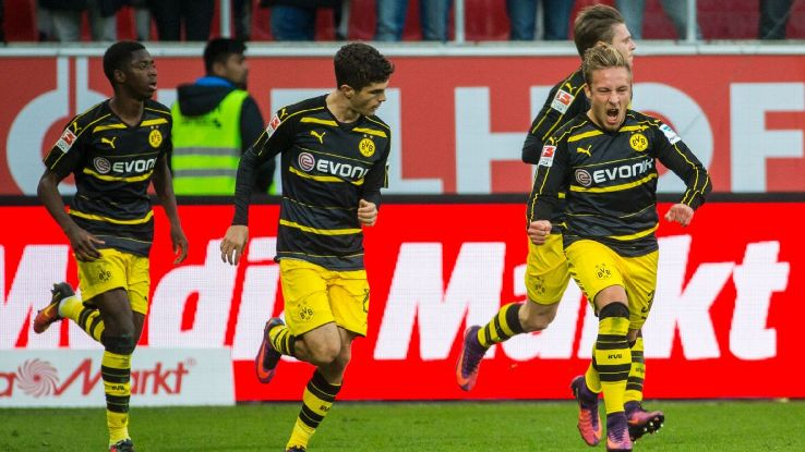 Christian Pulisic scored late to give Dortmund a draw at Ingolstadt.