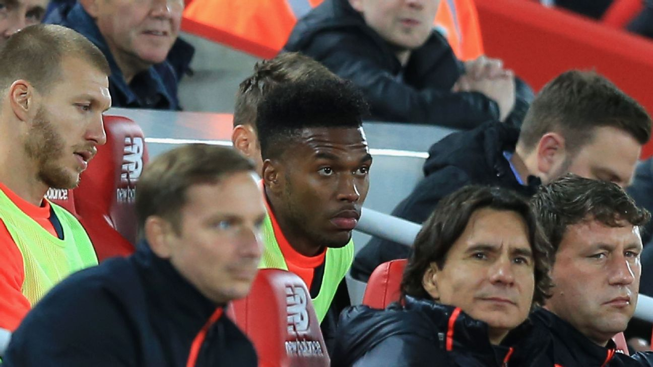 Daniel Sturridge 'ready to leave Liverpool'; Stoke, West Ham interested