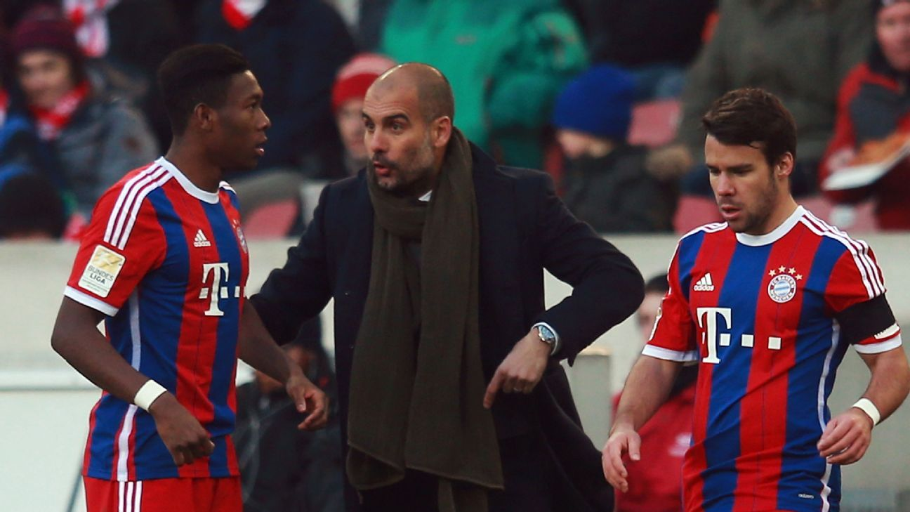 David Alaba, Pep Guardiola & Juan Bernat
