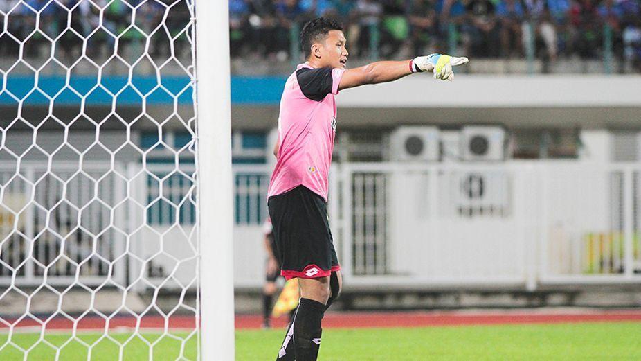 Selangor goalkeeper Khairul Azhan Khalid