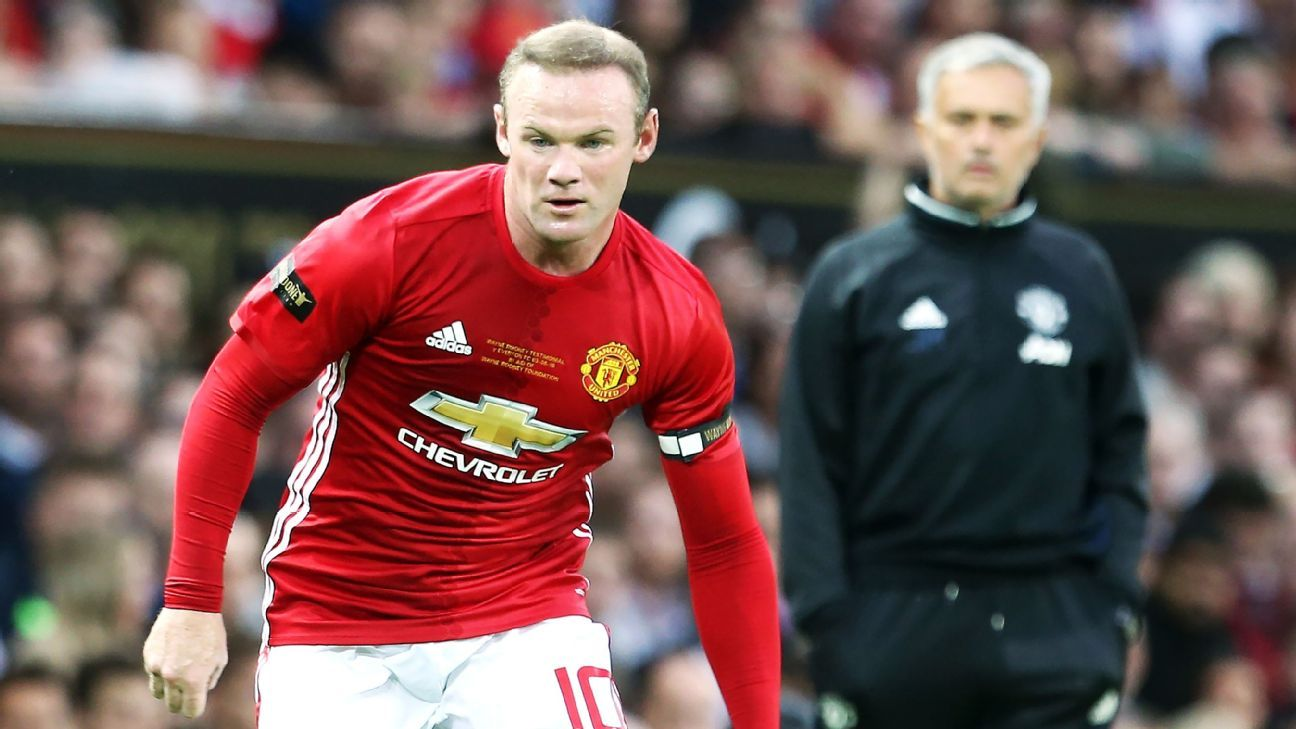 Wayne Rooney played his final season with Manchester United under Jose Mourinho.
