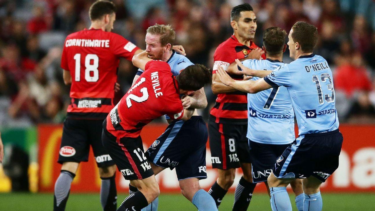 Western Sydney Wanderers' Scott Neville