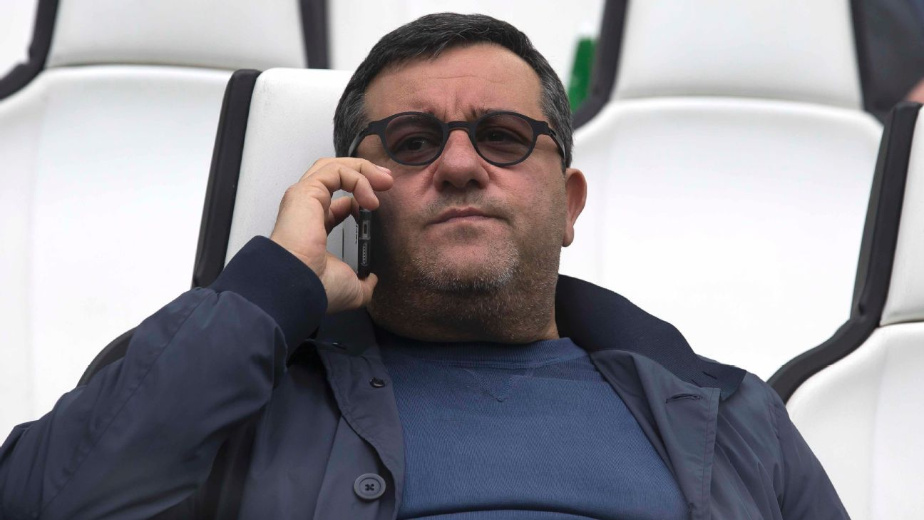 Mino Raiola reportedly made £24m from Paul Pogba's move to Manchester United.