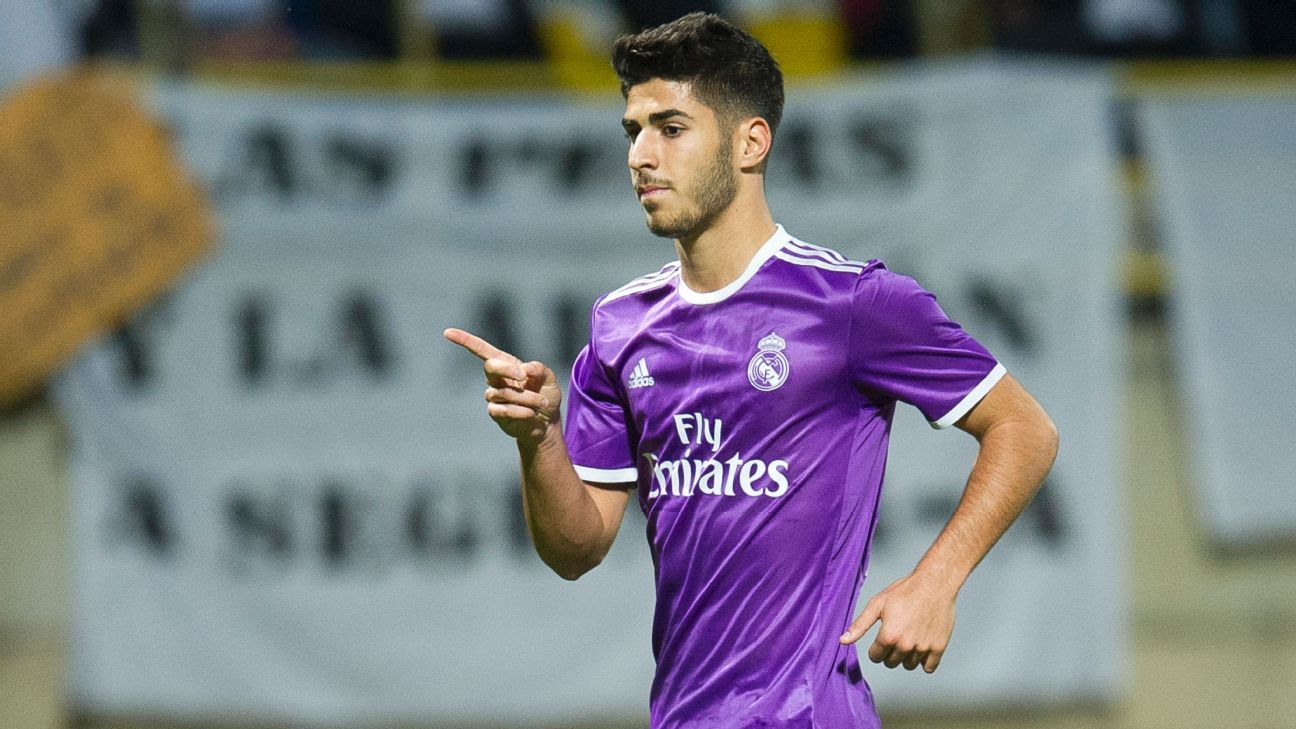 Marco Asensio bagged a brace in Real Madrid's Copa del Rey thrashing om Wednesday.