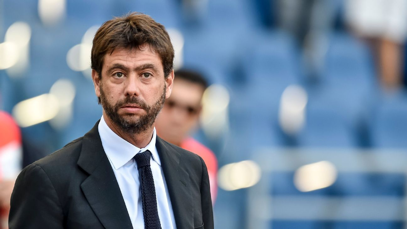 Juventus president Andrea Agnelli banned for one year over