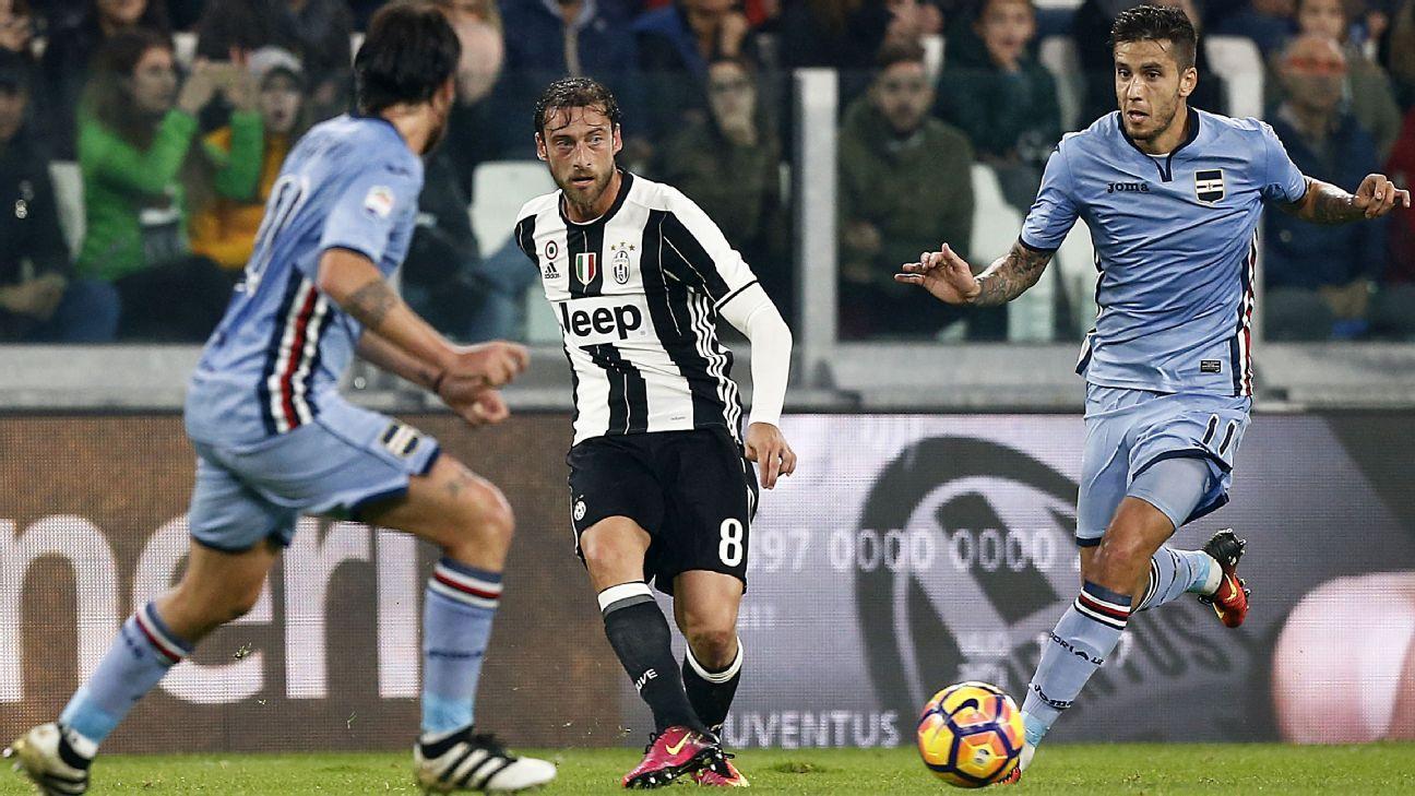 Juventus midfielder Claudio Marchisio