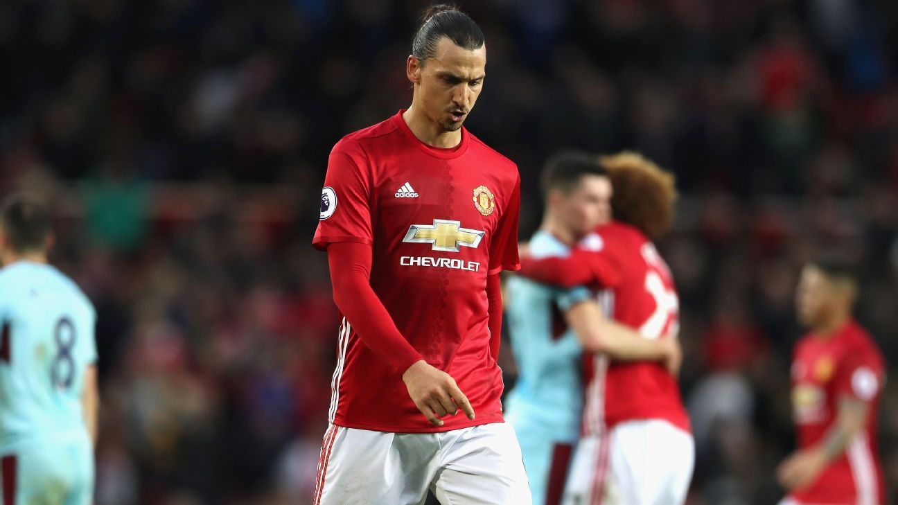 Despite plenty of chances, Zlatan Ibrahimovic is mired in an epic slump.