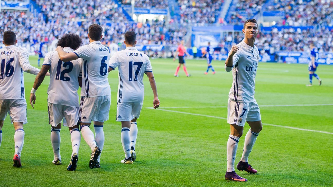 Real Madrid host chippy Alaves as La Liga title race enters its
