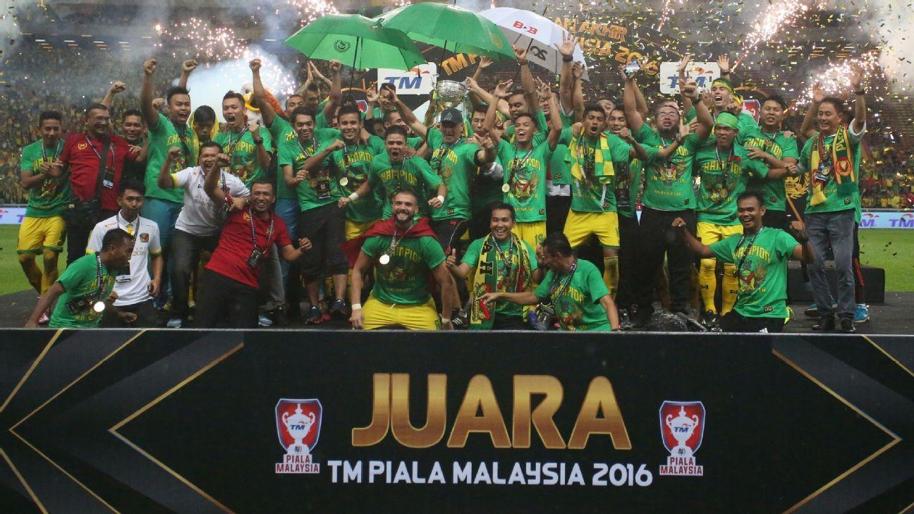 Kedah celebrate 2016 Malaysia Cup win
