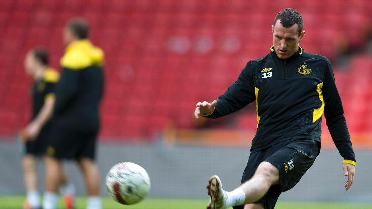 Shamrock Rovers training in Parken Stadium - Pat Flynn